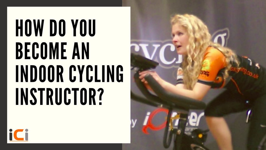 How do you become an indoor cycling instructor