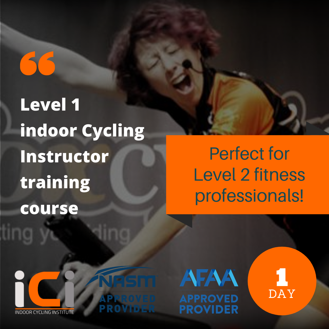 Top quality indoor cycling instructor training from ICI