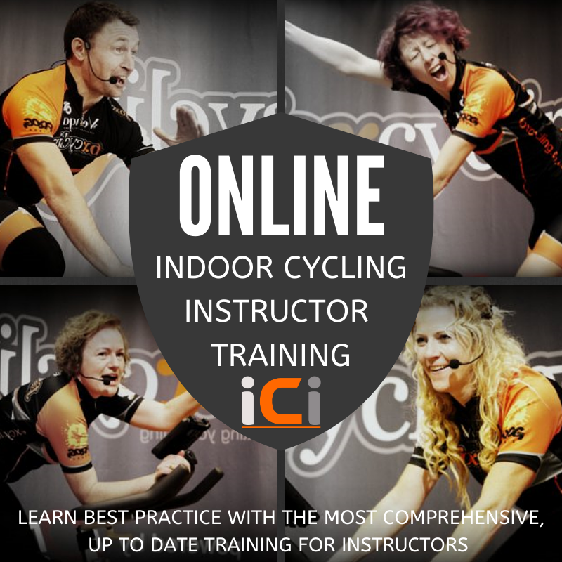 The best indoor cycling isntructor training at the Indoor Cycling Institute